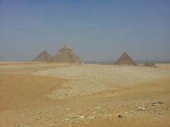 Pirámides de KEOPS KEFREN Y MICERINOS