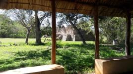 El laberinto en Oxkintok ruta Puuc Mèxico